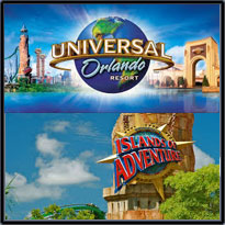 Discount Universal Studio Orlando and Islands of Adventure Tickets